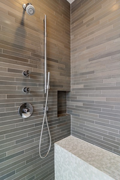 Real Estate Photography - 1615 N Wolcott, Unit 204, Chicago, IL, 60622 - Master Bathroom