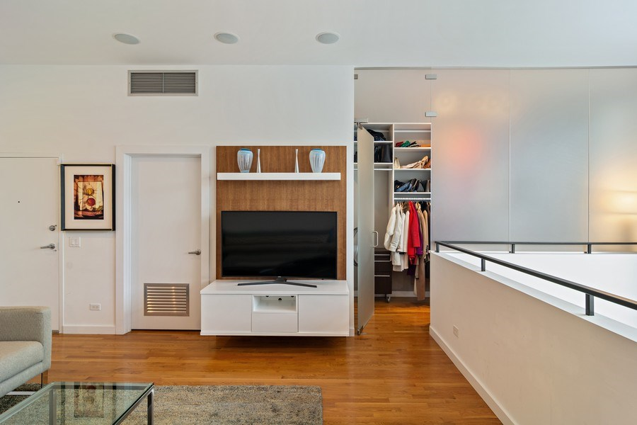 Real Estate Photography - 1615 N Wolcott, Unit 204, Chicago, IL, 60622 - Family Room