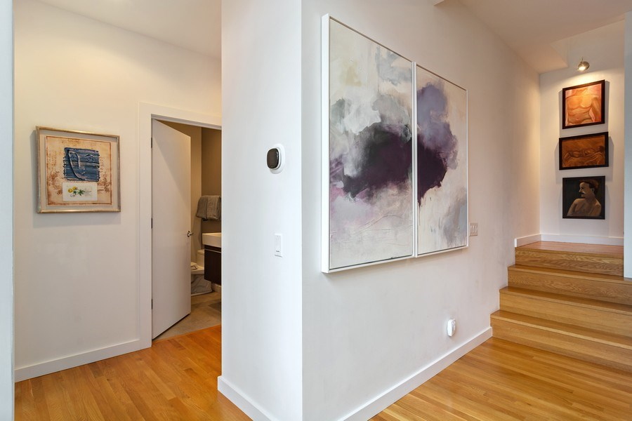 Real Estate Photography - 1615 N Wolcott, Unit 204, Chicago, IL, 60622 - Hallway
