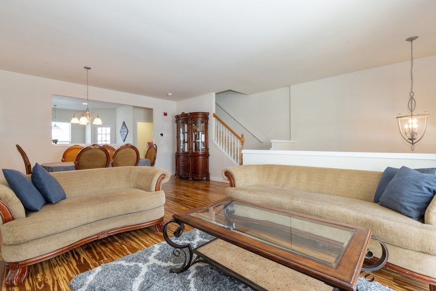 Real Estate Photography - 1117 Chelsea, Lake Zurich, IL, 60047 - Living Room