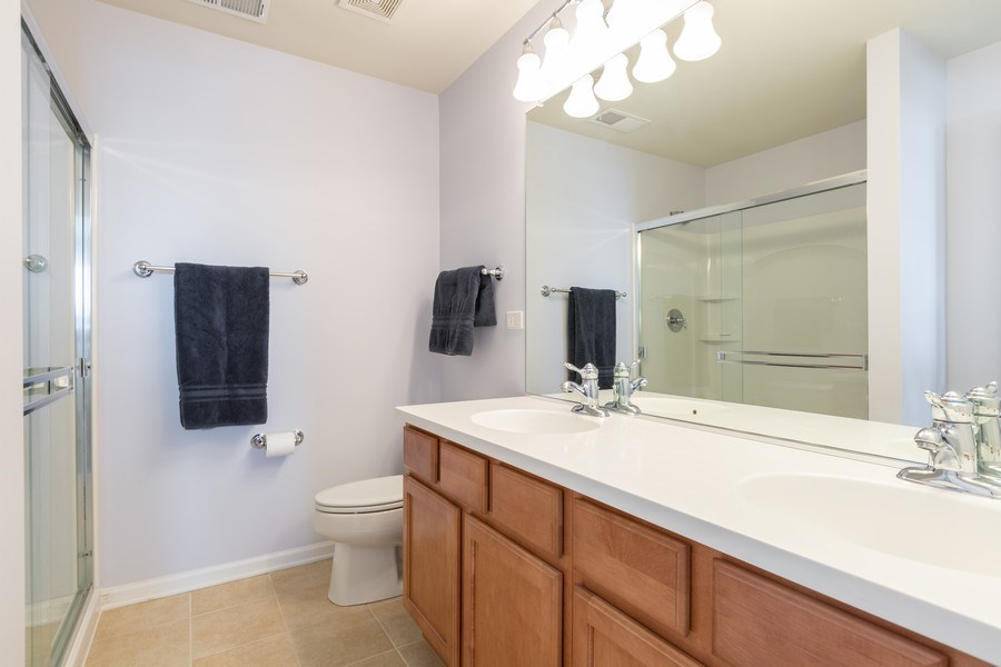 Real Estate Photography - 1117 Chelsea, Lake Zurich, IL, 60047 - Master Bathroom