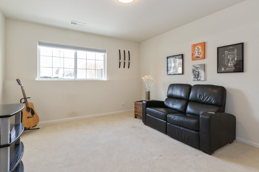 Real Estate Photography - 1117 Chelsea, Lake Zurich, IL, 60047 - Family Room