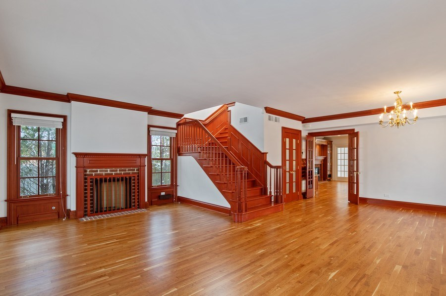 Real Estate Photography - 508 Ryan Place, lake forest, IL, 60045 - Actual Living Room/Dining Room
