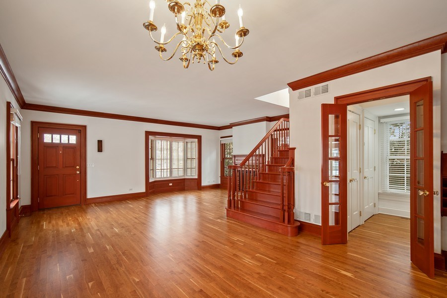 Real Estate Photography - 508 Ryan Place, lake forest, IL, 60045 - Actual Dining Room/Living Room
