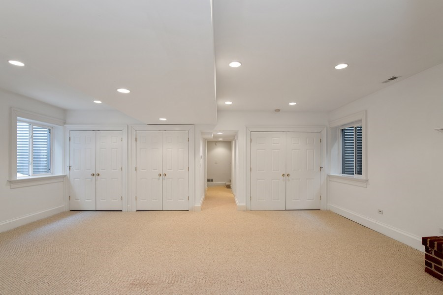 Real Estate Photography - 508 Ryan Place, lake forest, IL, 60045 - Recreation Room
