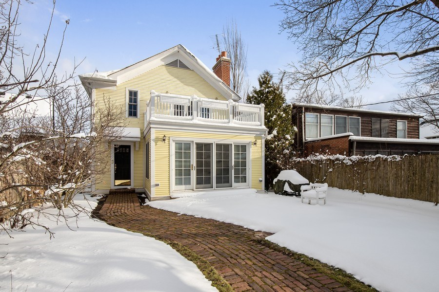 Real Estate Photography - 508 Ryan Place, lake forest, IL, 60045 - Rear View