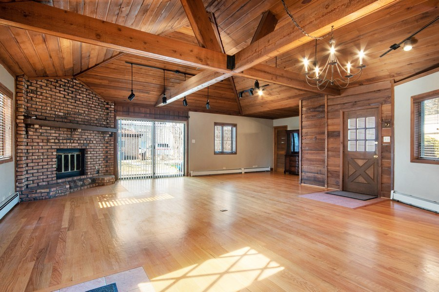 Real Estate Photography - 1231 N. Marion St., Oak Park, IL, 60302 - Family Room