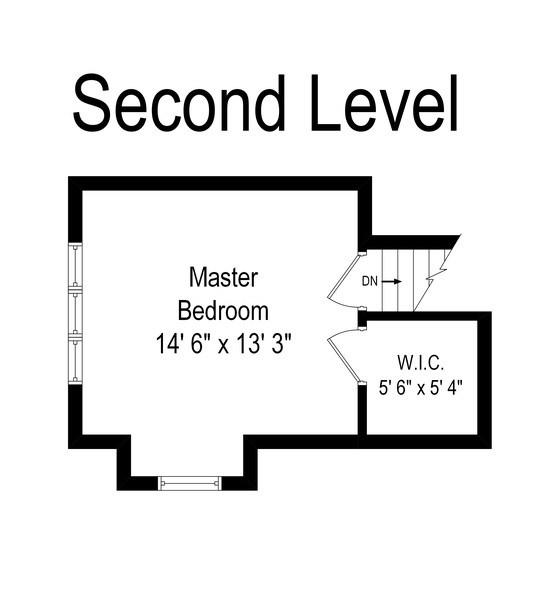 Real Estate Photography - 1231 N. Marion St., Oak Park, IL, 60302 - Second Level