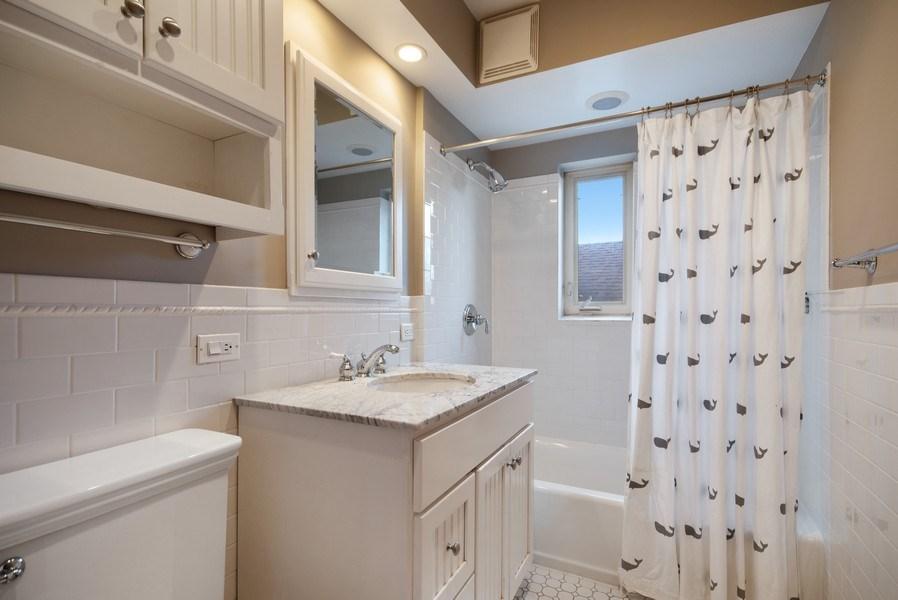 Real Estate Photography - 1231 N. Marion St., Oak Park, IL, 60302 - Bathroom