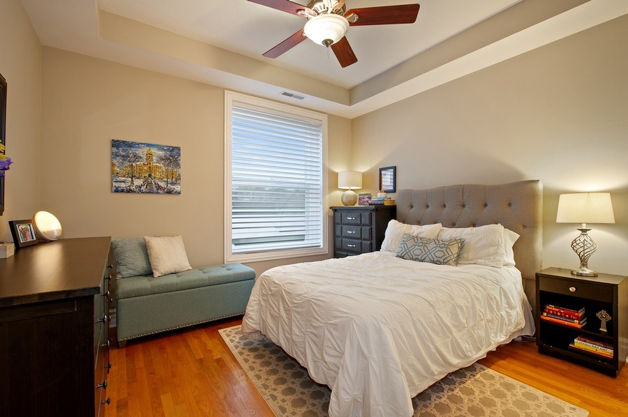 Real Estate Photography - 1701 N Crilly Court, 3W, Chicago, IL, 60614 - Master Bedroom