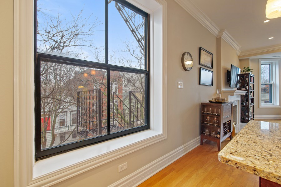 Real Estate Photography - 1701 N Crilly Court, 3W, Chicago, IL, 60614 - View
