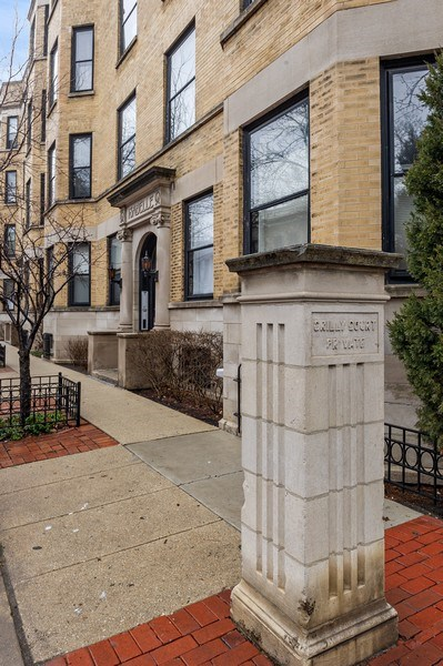 Real Estate Photography - 1701 N Crilly Court, 3W, Chicago, IL, 60614 - Street View
