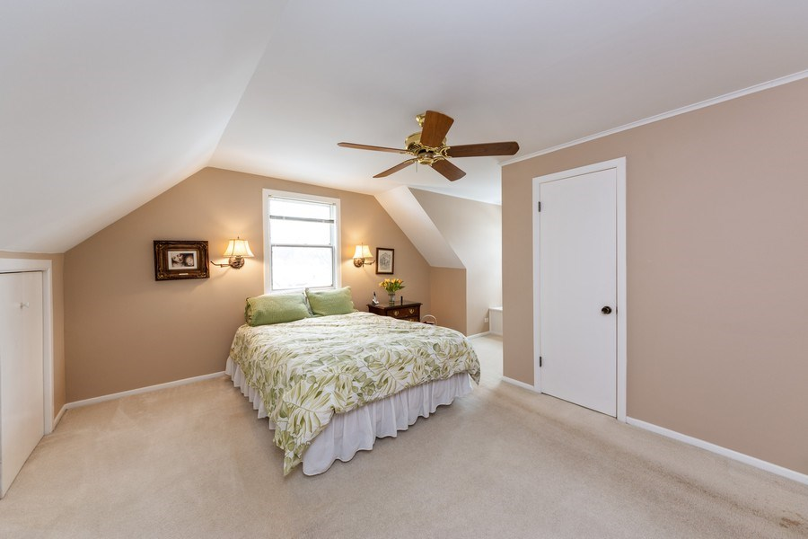 Real Estate Photography - 608 E Oakton, Arlington Heights, IL, 60004 - Master Bedroom