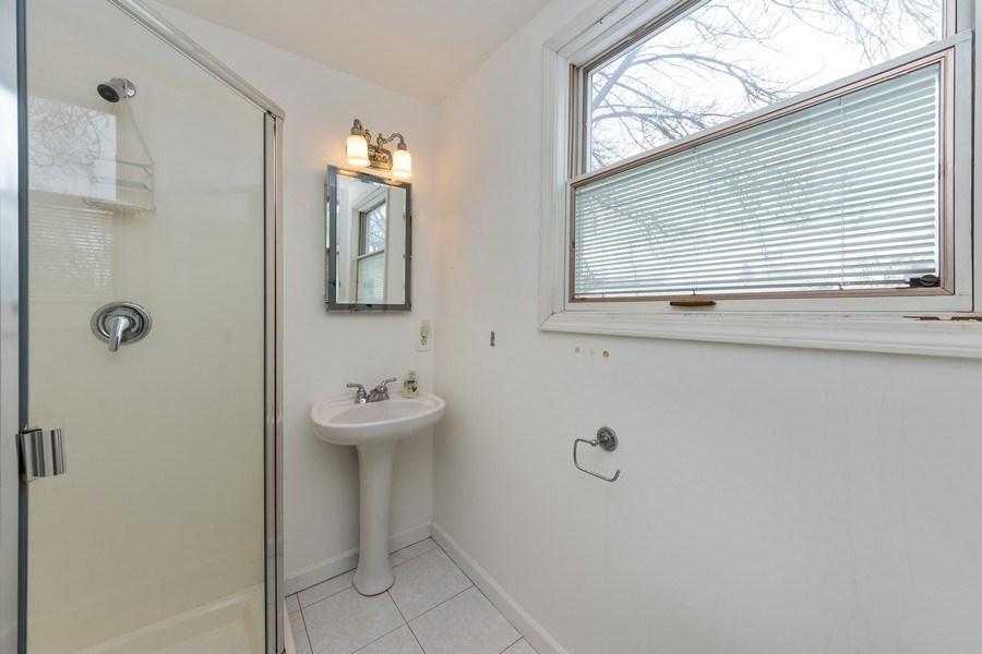 Real Estate Photography - 608 E Oakton, Arlington Heights, IL, 60004 - Bathroom