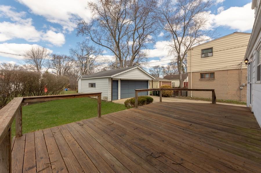 Real Estate Photography - 608 E Oakton, Arlington Heights, IL, 60004 - Back View