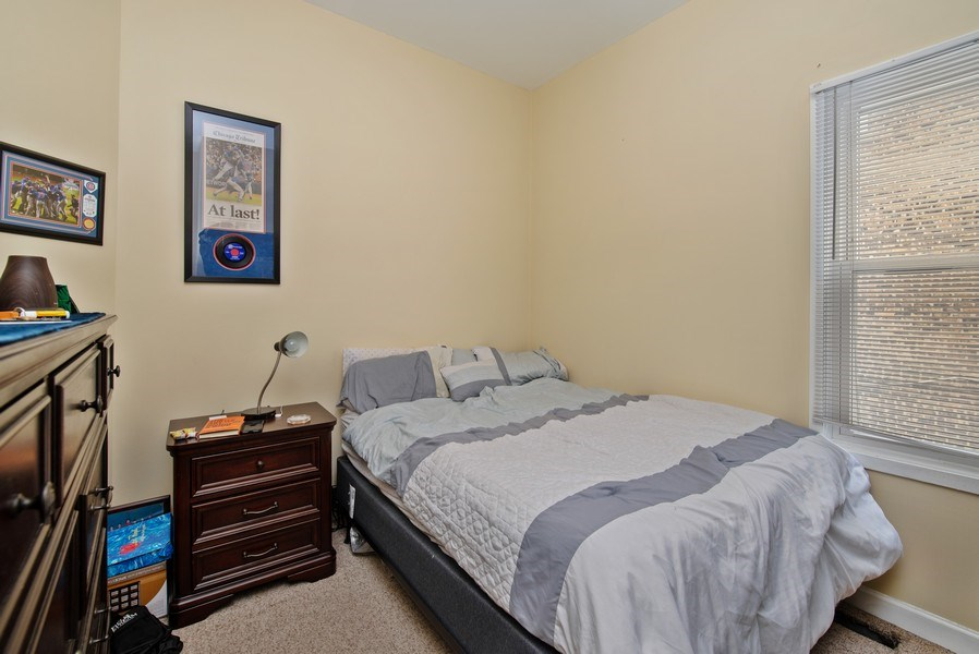 Real Estate Photography - 1116 W. George St., Chicago, IL, 60657 - 3rd Bedroom