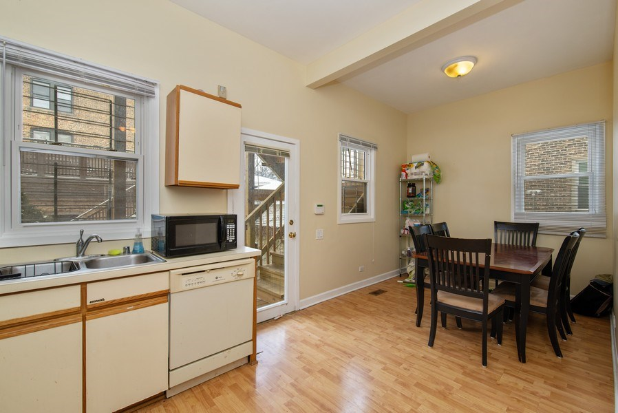 Real Estate Photography - 1116 W. George St., Chicago, IL, 60657 - Kitchen
