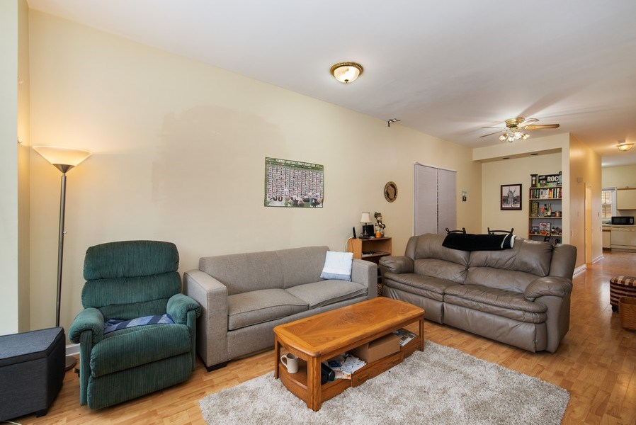 Real Estate Photography - 1116 W. George St., Chicago, IL, 60657 - Great Room
