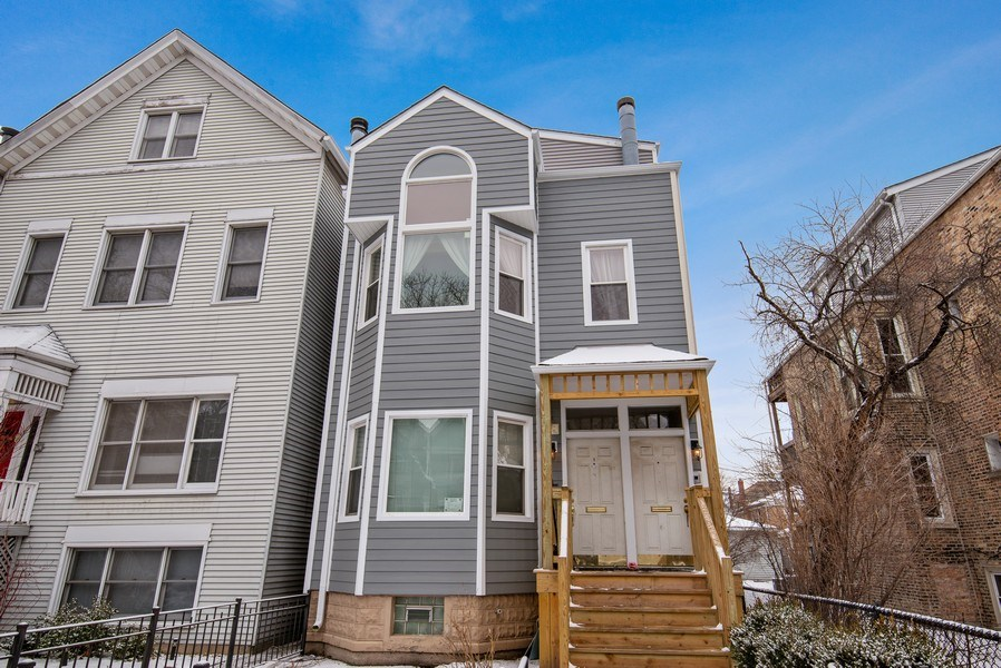 Real Estate Photography - 1116 W. George St., Chicago, IL, 60657 - Front View