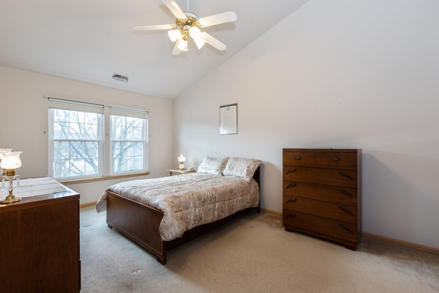 Real Estate Photography - 2129 Aberdeen Ct., Hanover Park, IL, 60133 - Master Bedroom