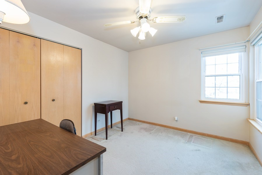 Real Estate Photography - 2129 Aberdeen Ct., Hanover Park, IL, 60133 - 2nd Bedroom