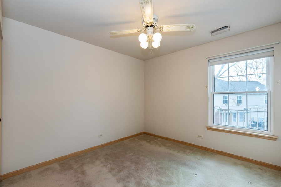 Real Estate Photography - 2129 Aberdeen Ct., Hanover Park, IL, 60133 - 3rd Bedroom