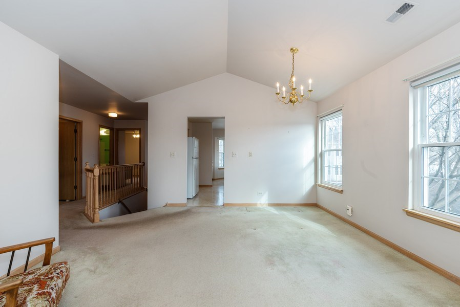 Real Estate Photography - 2129 Aberdeen Ct., Hanover Park, IL, 60133 - Dining Room