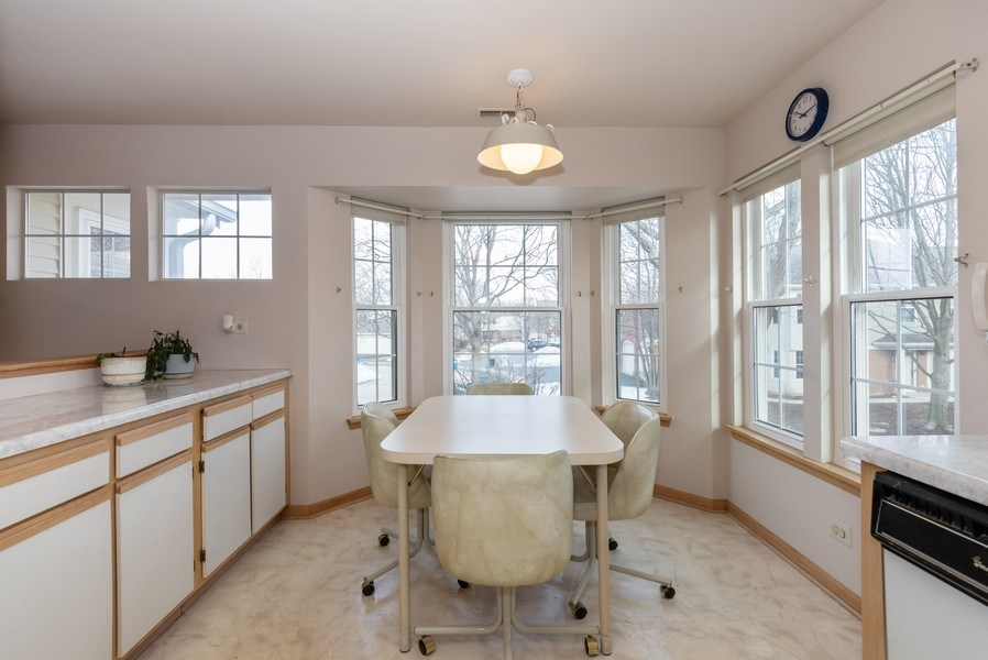 Real Estate Photography - 2129 Aberdeen Ct., Hanover Park, IL, 60133 - Dining Area