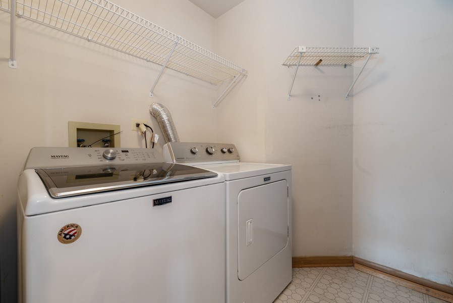 Real Estate Photography - 2129 Aberdeen Ct., Hanover Park, IL, 60133 - Laundry Room