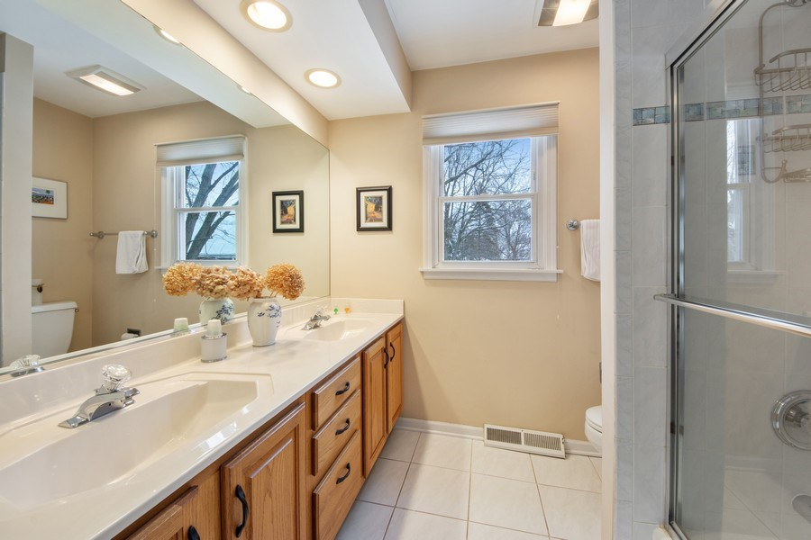 Real Estate Photography - 503 Tomah, Prospect Heights, IL, 60070 - 3rd Bathroom