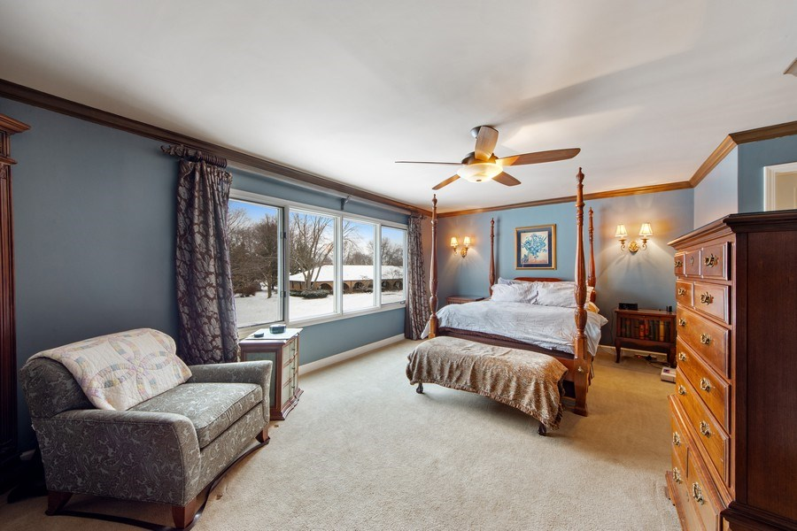 Real Estate Photography - 503 Tomah, Prospect Heights, IL, 60070 - Master Bedroom