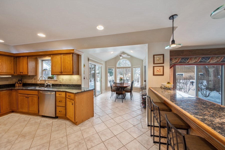 Real Estate Photography - 503 Tomah, Prospect Heights, IL, 60070 - Kitchen / Breakfast Room