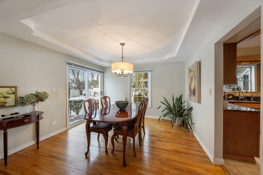 Real Estate Photography - 503 Tomah, Prospect Heights, IL, 60070 - Dining Room