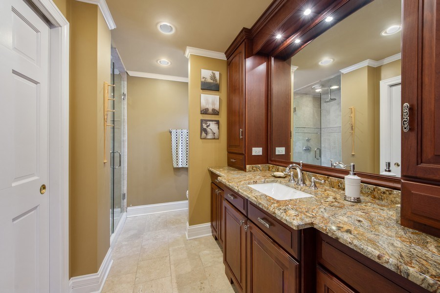 Real Estate Photography - 503 Tomah, Prospect Heights, IL, 60070 - 2nd Bathroom