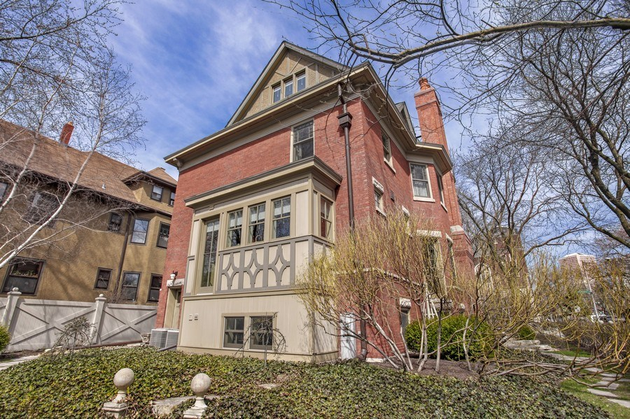 Real Estate Photography - 5402 North Magnolia, Chicago, IL, 60640 - Rear View