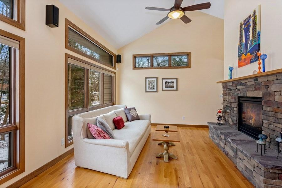 Real Estate Photography - 4486 Greenwood Drive, Benton Harbor, MI, 49022 - Living Room