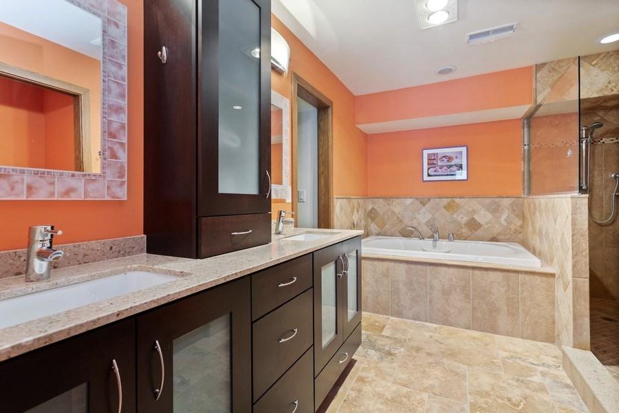 Real Estate Photography - 4486 Greenwood Drive, Benton Harbor, MI, 49022 - Master Bathroom