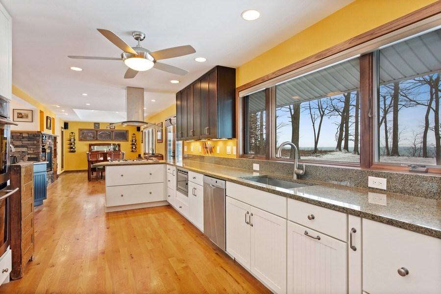 Real Estate Photography - 4486 Greenwood Drive, Benton Harbor, MI, 49022 - Kitchen