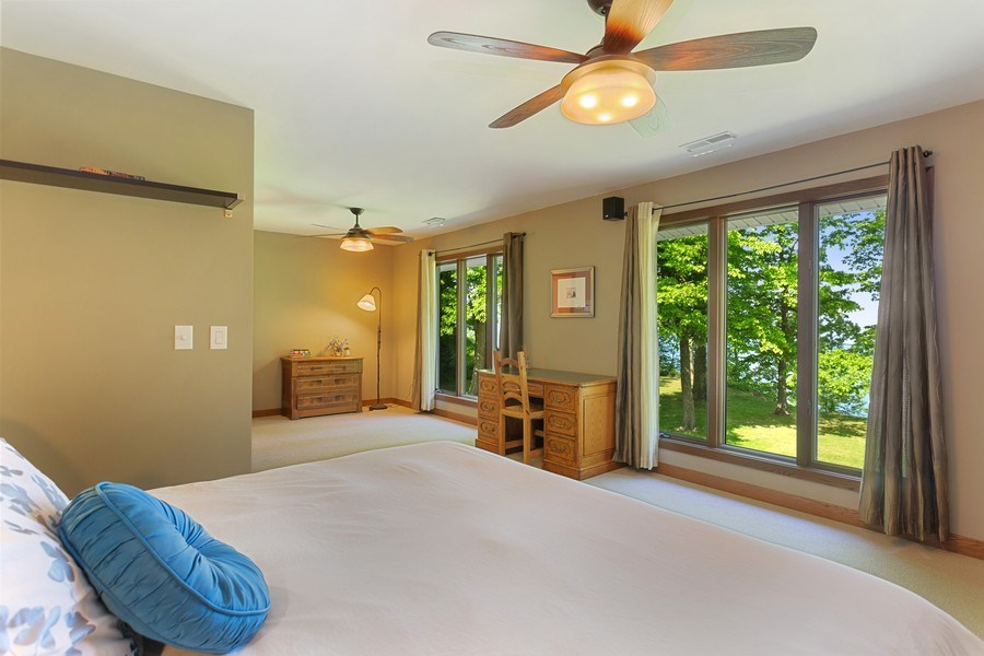 Real Estate Photography - 4486 Greenwood Drive, Benton Harbor, MI, 49022 - Master Bedroom