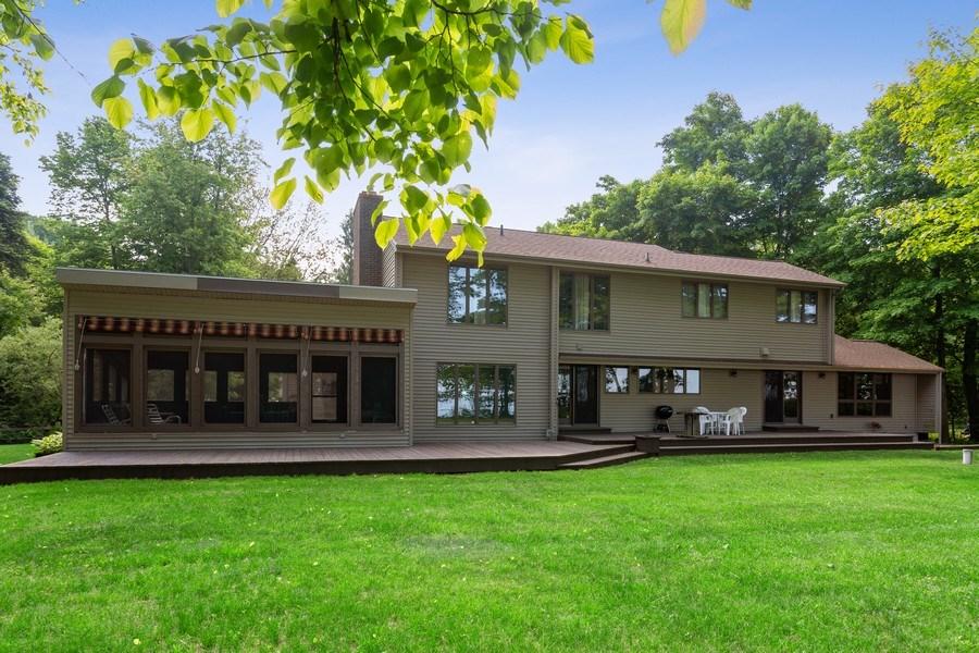Real Estate Photography - 4486 Greenwood Drive, Benton Harbor, MI, 49022 - Rear View