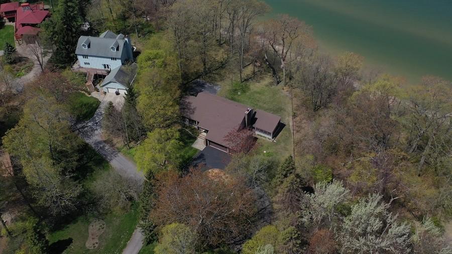 Real Estate Photography - 4486 Greenwood Drive, Benton Harbor, MI, 49022 - Aerial View