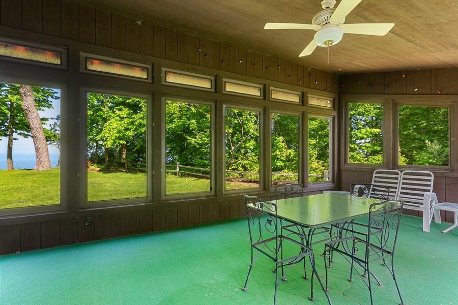 Real Estate Photography - 4486 Greenwood Drive, Benton Harbor, MI, 49022 - Screened Porch