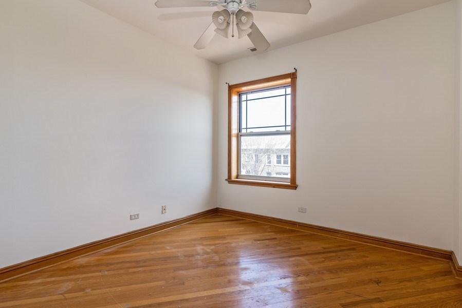 Real Estate Photography - 927 W. Brummel Street #3, Evanston, IL, 60201 - Bedroom