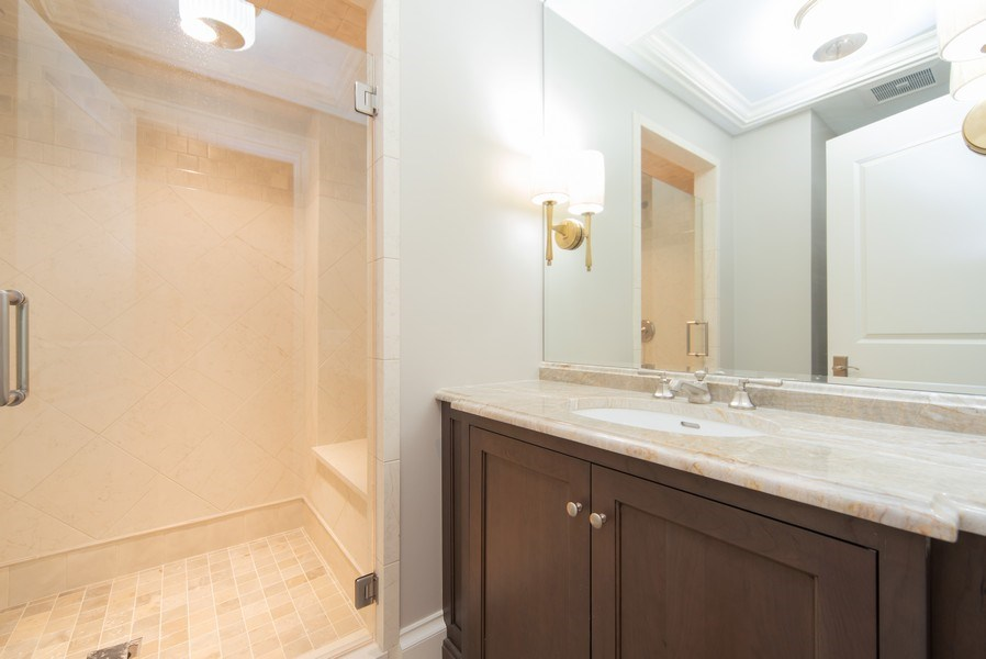 Real Estate Photography - 315 E Hawthorne St, Arlington Heights, IL, 60004 - 4th Bathroom