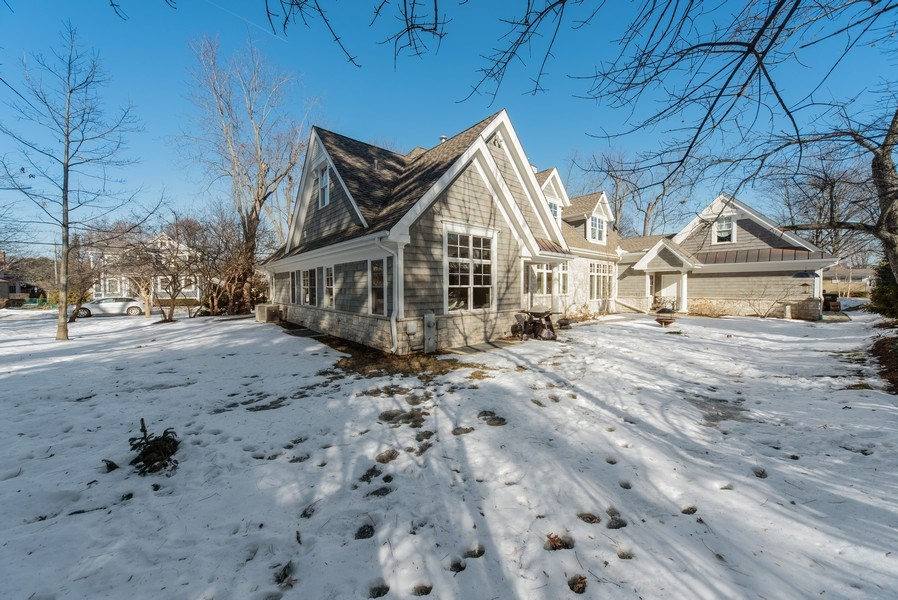Real Estate Photography - 315 E Hawthorne St, Arlington Heights, IL, 60004 - Rear View