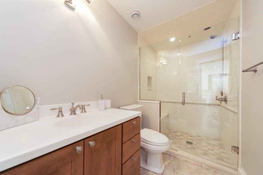 Real Estate Photography - 315 E Hawthorne St, Arlington Heights, IL, 60004 - 2nd Bathroom