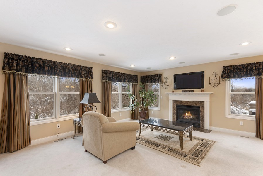 Real Estate Photography - 6373 Oak Court, Berrien Center, MI, 49102 - Living Room