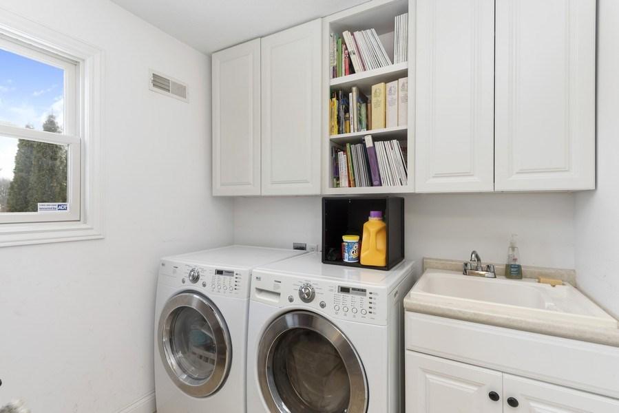 Real Estate Photography - 6373 Oak Court, Berrien Center, MI, 49102 - Laundry Room