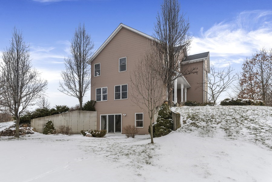 Real Estate Photography - 6373 Oak Court, Berrien Center, MI, 49102 - Side View