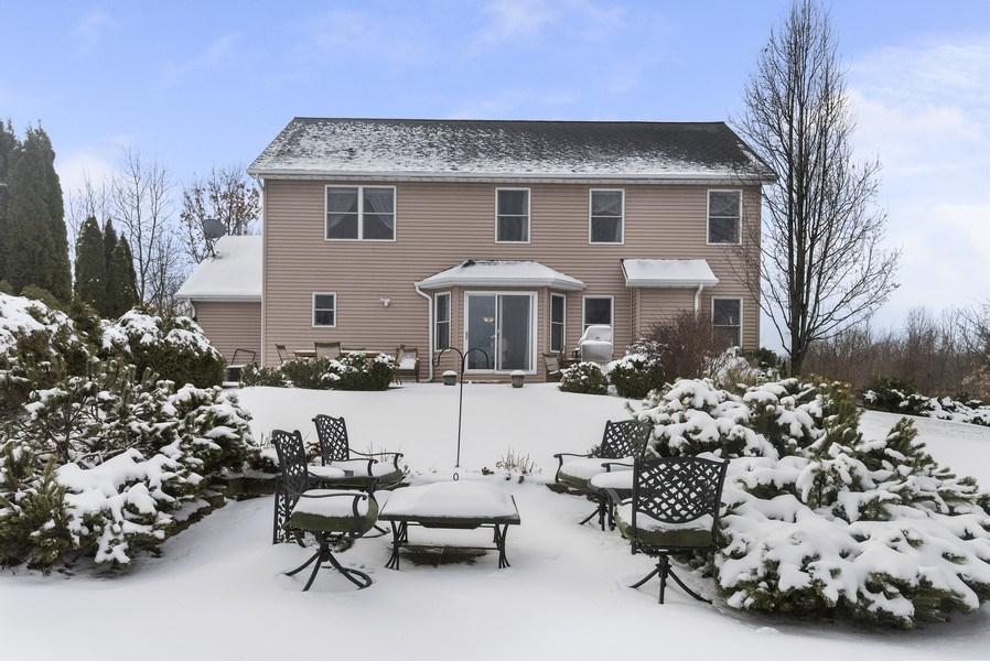 Real Estate Photography - 6373 Oak Court, Berrien Center, MI, 49102 - Rear View